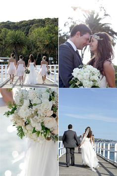 australian seaside wedding :)
