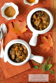 Slow Cooker Fragrant Beef Stew with Yams and Chickpeas -  BoulderLocavore.com