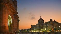 Gateway of India and the Taj Mahal Palace Hotel