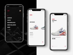 Minimal Sneakers Only App / Shop