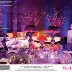 The Future Has Arrived is in the SF14 issue of Real Weddings, Photos: www.EyeConnoisseur.com © Real Weddings; Venue: www.SacramentoConventionCenter.com; Styling/Coord: www.KMKDesign.com; Styling/Flowers/Vases: www.BellaBloomFlowers.com; Lighting: www.HipEntertainment.com; H/M: www.LBGorgeous.com; Gown: www.SparkleBridalCouture.com; Cake: www.KathysLittleCakery.com; Paperie: www.HoneyPaperie.com; Rentals: www.PartyConcierge.com; www.AmericasPartyRental.com; more…