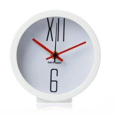 Reloj de Mesa - SALT AND PEPPER #tiempo #decoracion #hogar #siman