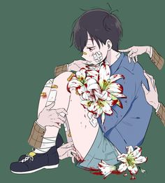 hey? What are you doing here? Come with me...abusing you is like killing you under the ocean, stop and stand up. Pencil Drawings, Art Drawings, Yandere Boy, Yandere Anime, Manga Anime, Animes Manga, Manga Art, Anime Guys, Abuse Art