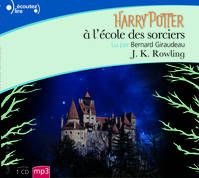 Audio book in French of harry potter and the philosophers stone  https://www.librairievo.com/livre/4388384-harry-potter-a-l-ecole-des-sorciers-anniversai--j-k-rowling-gallimard-jeunesse