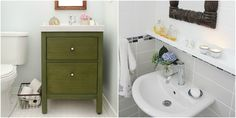 11 Brillant IKEA Hacks for a Super-Organized Bathroom  - HouseBeautiful.com