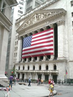 The New York Stock Exchange Building, 2006.  Photography by David E. Nelson