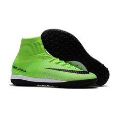 designer fashion 6e790 8289c Nike MercurialX Proximo II DF IC Зеленый черный Футбольные бутсы для игры в  зале на поле. Soccer Cleats ...