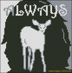 Always! – а Harry Potter tribute pattern | Happy Stitch