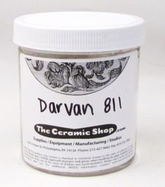 Darvan 811 is a deflocculant that is similar to Darvan but is more powerful. Earthenware, Stoneware, Pottery Supplies, Ceramic Shop, Safe Shop, Pottery Wheel, Iron Oxide, Clay Art, Ceramica