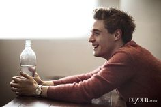max irons shirtless | Max Irons Gets Featured In DUJOUR Magazine's August 2013 Issue