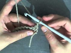 Learn to Crochet for Beginners - How to do rows of Single crochet