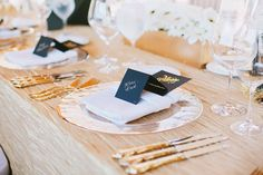 Style Me Pretty | Gallery & Inspiration | Tag - Place Settings | Picture - 766237