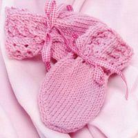 Knit baby mittens - three styles, one pattern | iVillage UK