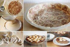 Sweet Potato Pie with Cinnamon Roll Crust Recipe, must try the crust :)