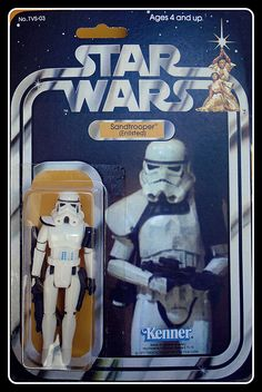 SANDTROOPER (Enlisted)  WHITE PAULDRON CARDED Pauldron, Star Wars Action Figures, Star Wars Toys, Book Tv, Clone Trooper, Star Wars Collection, My Childhood Memories, Cool Toys, Amazing Toys