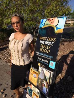 First time with Public Witnessing cart at Las Vegas bus stops. #literature_cart