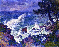 Tundras: Photo  Last Wind by Theo Van Rysselberghe 1904