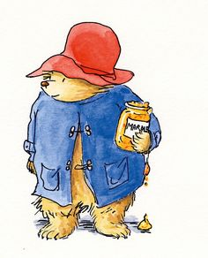 'To celebrate the 90th birthday of Michael Bond, the creator of Paddington Bear's creator, we share illustrations by the artists who drew Paddington from 1958 to 2016'. [Literary England - Michael Bond]