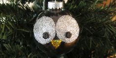 singleimage - how to make a owl ornament - just crafty enough