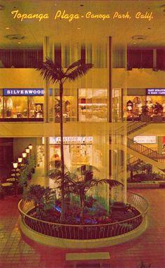vintage photo Canoga Park California   Malls of America - Vintage photos of lost Shopping Malls of the '50s ...