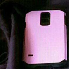 PINK GALAXY S5 PHONE CASE! Has been used. Separate sale Other