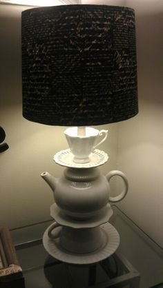 Freedom teapot lamp