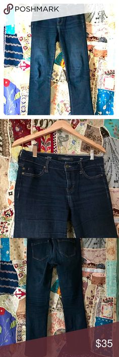 """LIVERPOOL • Sadie Straight Cut Dark Wash Jeans Sadie Straight • 2 petitie is a short version of a Sz 2.   • DO ask questions • Do not ask to trade • Gently cared for • Condition: EUC • Hit """"BUNDLE"""" to see your private discount • Hit """"OFFER"""" to set your own price!  • FREE GIFT w Purchase • Seasonal DiSCOUNT w 2+ pieces! ✌️ Liverpool Jeans Company Jeans"""