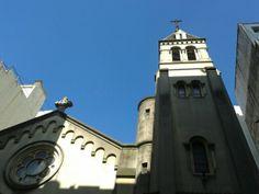 """Iglesia """"Patrocinio de San José"""", Ayacucho y Av. Santa Fe, Ciudad de Buenos Aires. Jueves 21 de noviembre de 2013, 8:30 hs."""
