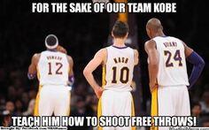 Can Kobe & Nash teach Dwight?  Lakers funny meme!  http://weheartlakers.com
