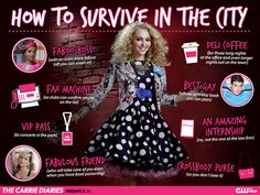 If you can make it there, you can make it anywhere! #TheCarrieDiaries