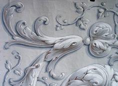 fragmentos de superficie: Cómo dibujar el Acanthus: Las Sombras de Giro (Parte IV)