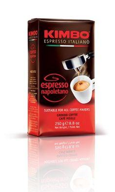 Caffe Kimbo Espresso Napoletano (Ground) - 8.8 oz vacuum pack Caffe Kimbo. available for purchase at http://www.amazon.com. just delicious!! excellent, high-end brand of Italian coffee. love it. xoxo.