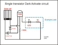 Dark activated circuit