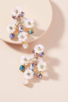 Slide View: 1: Florette Drop Earrings