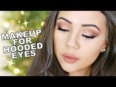 Beginners Eyeshadow Tutorial For Hooded Eyes // My Everyday Makeup - YouTube