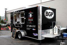 Byrnes Grilled Pizza Mobile Food Truck