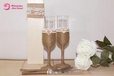 Um brinde aos Noivos? Flutes para Brinde em Casamento
