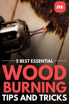 Learn 5 essential wood burning tips and tricks and discover why so many people love pyrography. Wood Burning Tips, Wood Burning Crafts, Wood Burning Patterns, Family Crafts, Diy Home Crafts, Wood Crafts, Woodworking Jigs, Woodworking Projects, Wood Burning Stencils
