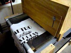 Flash Dryer Conveyor Belt for screen printing :)