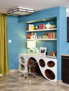Contemporary | Home Offices | Christopher J. Grubb : Designer Portfolio : HGTV - Home & Garden Television