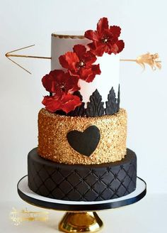 25 Gorgeous Beautiful Wedding Cake Ideas | http://www.deerpearlflowers.com/25-gorgeous-beautiful-wedding-cake-ideas/