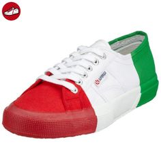 2750- PLUS COTU, Low-top mixte adulte - Rouge - Rot (Red 975), 38 EUSuperga