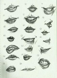 Desenho bocas