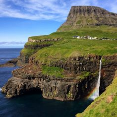 Gasadalur on the Faroe Islands