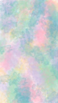 Multicolored Watercolor Wallpaper