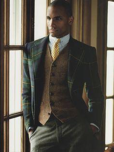 Pierre Woods menswear fashion