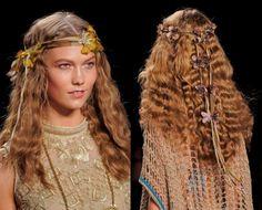 Boho Waves  Top 10 Hair Accessory Trends in 2015 ... 01flowersannasuihippieheadbands └▶ └▶ http://www.topteny.com/top-10-hair-accessory-trends-in-2015/