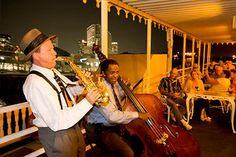 Enjoy traditional New Orleans jazz on a nightly Creole Queen cruise!