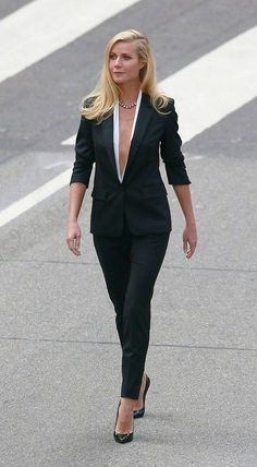 Gwyneth Paltrow in Hugo Boss suit: I LOVE this and would SO wear this!