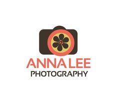 Photography Logo Design - Camera Sunflower Daisy Flower Photography Logo By ReaniDesigns